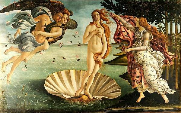 The Birth Of Venus Print