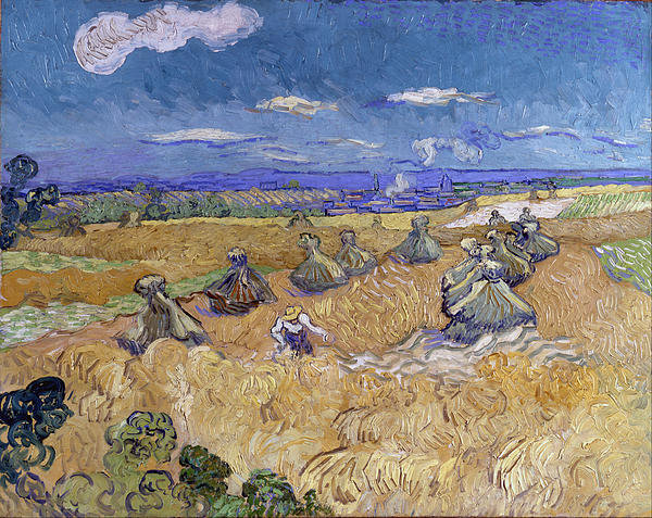 wheat-stacks-with-reaper-vincent-van-gogh