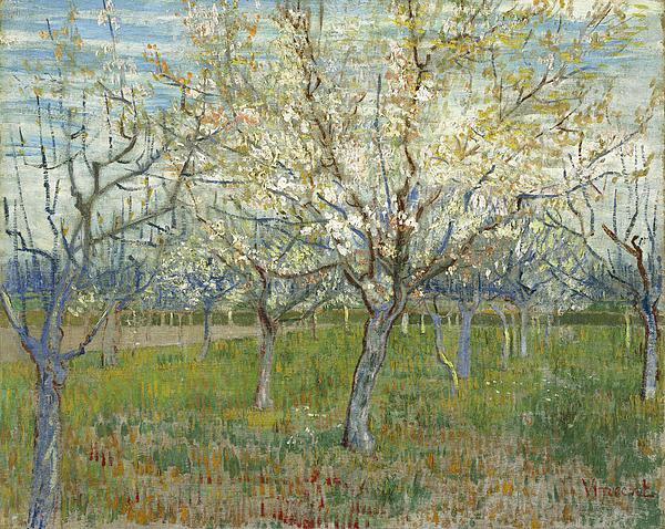 1-the-pink-orchard-vincent-van-gogh