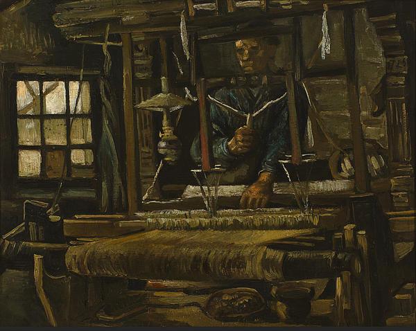 2-a-weavers-cottage-vincent-van-gogh
