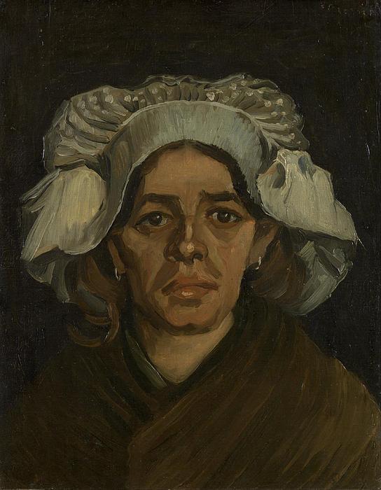 6-head-of-a-woman-vincent-van-gogh