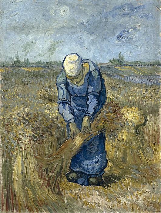 peasant-woman-binding-sheaves-vincent-van-gogh