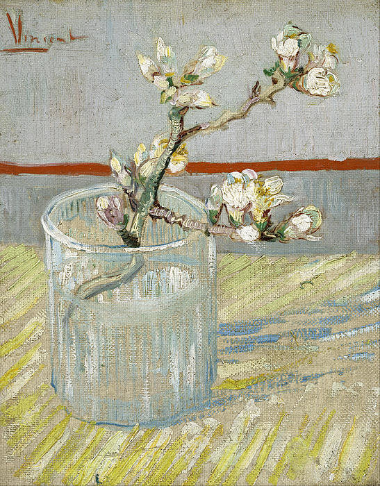 1-sprig-of-flowering-almond-in-a-glass-vincent-van-gogh