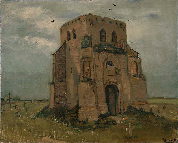 the-old-church-tower-at-nuenen-vincent-van-gogh