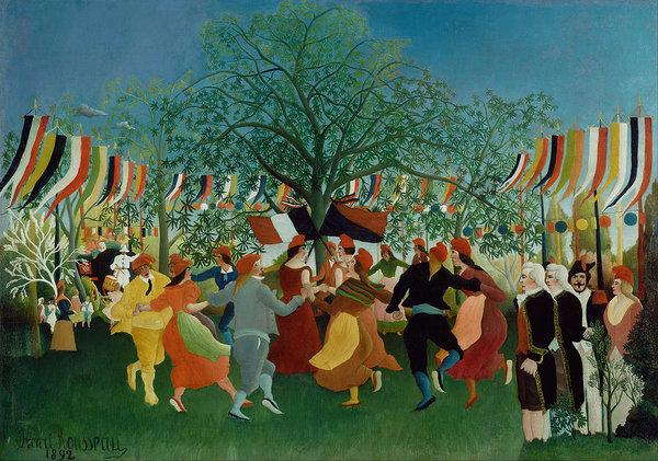 Henri Rousseau A Centennial Of Independence
