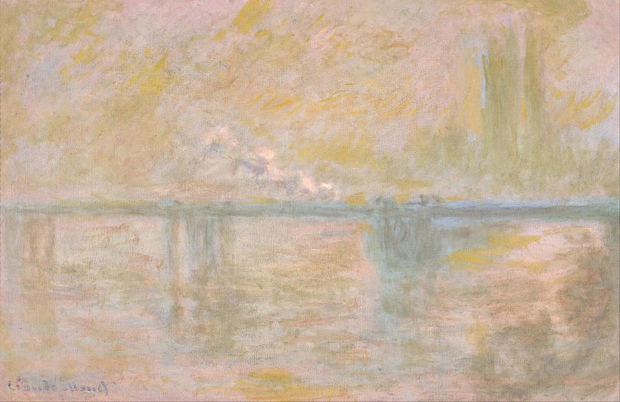 Claude Monet Charing Cross Bridge In London