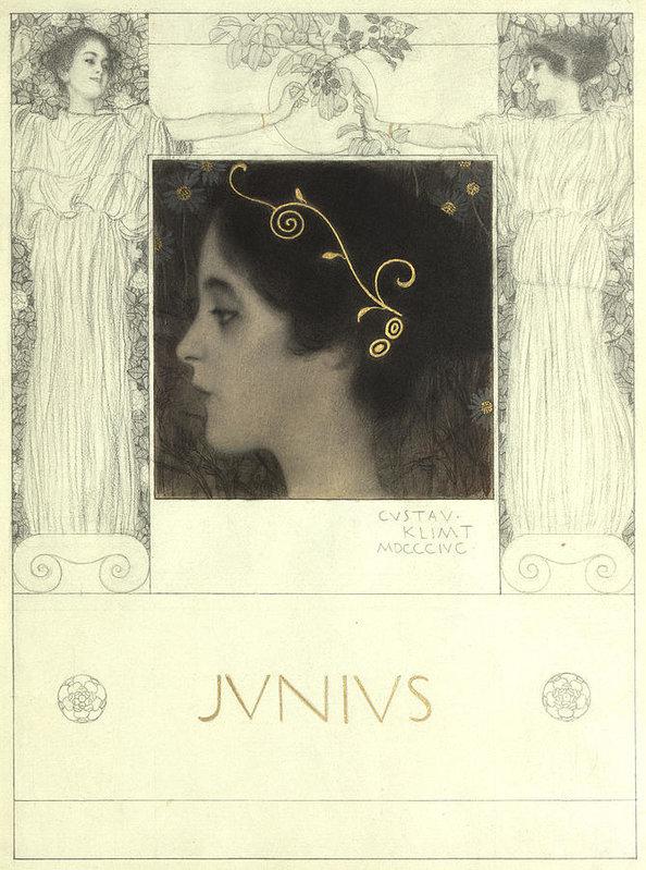 Gustav Klimt Junius