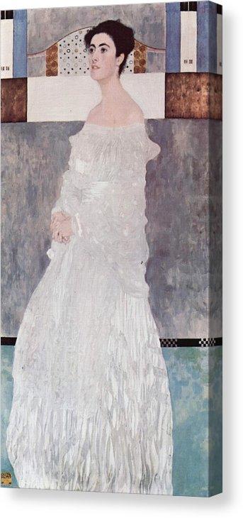 Gustav Klimt Margaret Stonborough-Wittgenstein Canvas Print