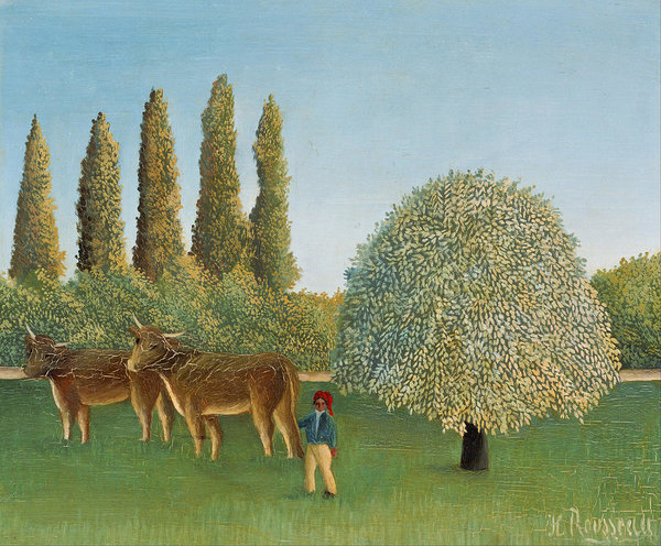 Henri Rousseau Meadowland