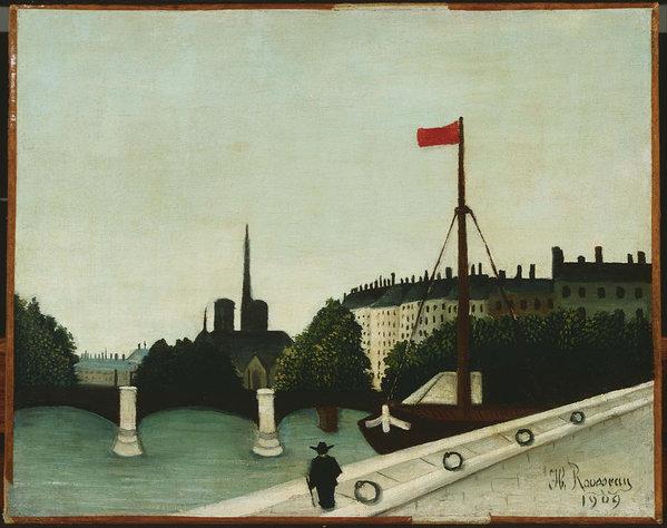 Henri Rousseau Notre Dame