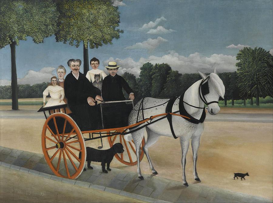 Henri Rousseau Old Junier's Cart