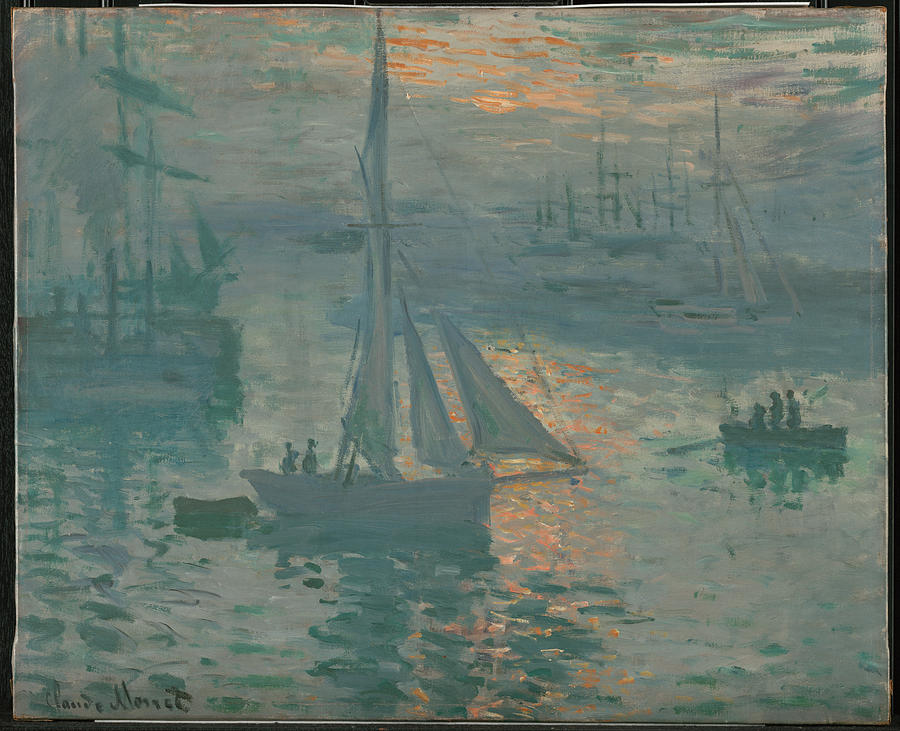 Claude Monet Sunrise