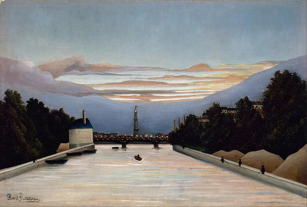 Henri Rousseau The Eiffel Tower