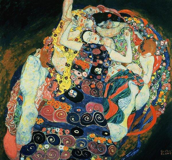 Gustav Klimt The Maiden