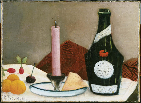 Henri Rousseau The Pink Candle