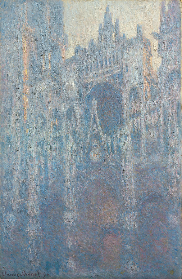 Claude Monet The Portal Of Rouen Cathedral In Morning Light
