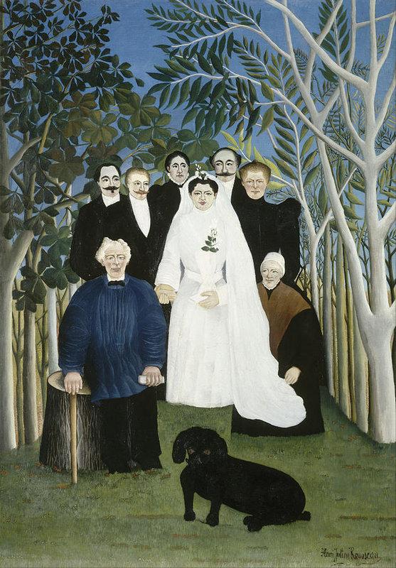 Henri Rousseau The Wedding Party