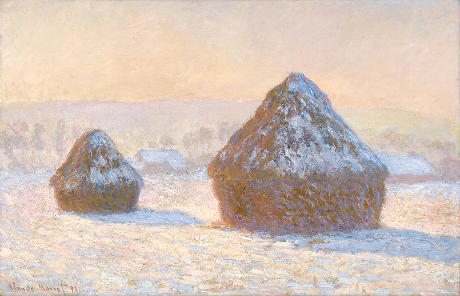 Claude Monet Wheatstacks