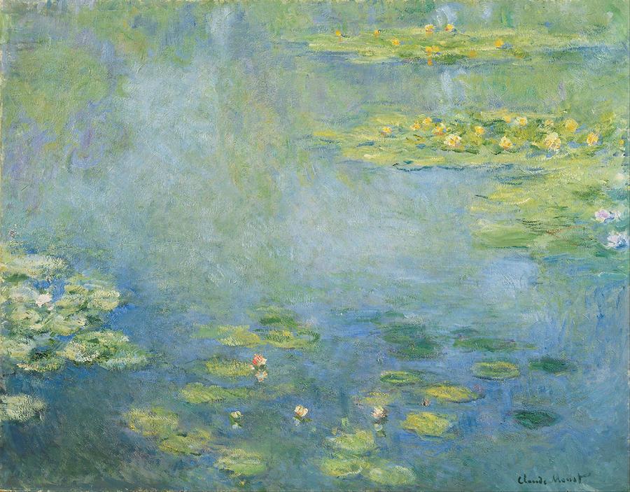 Claude Monet Waterlily Pond