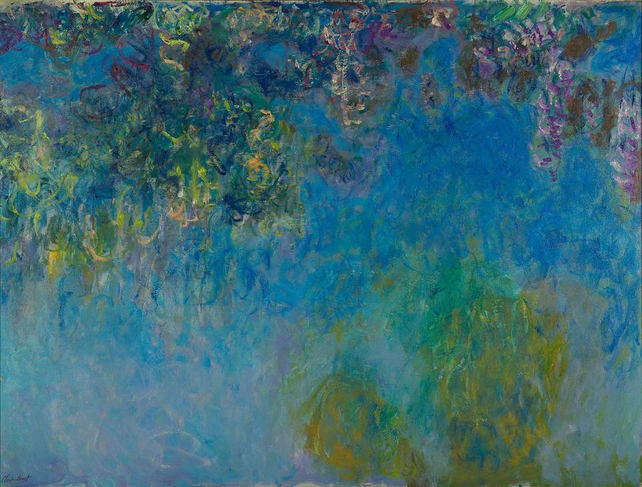 Claude Monet Wisteria