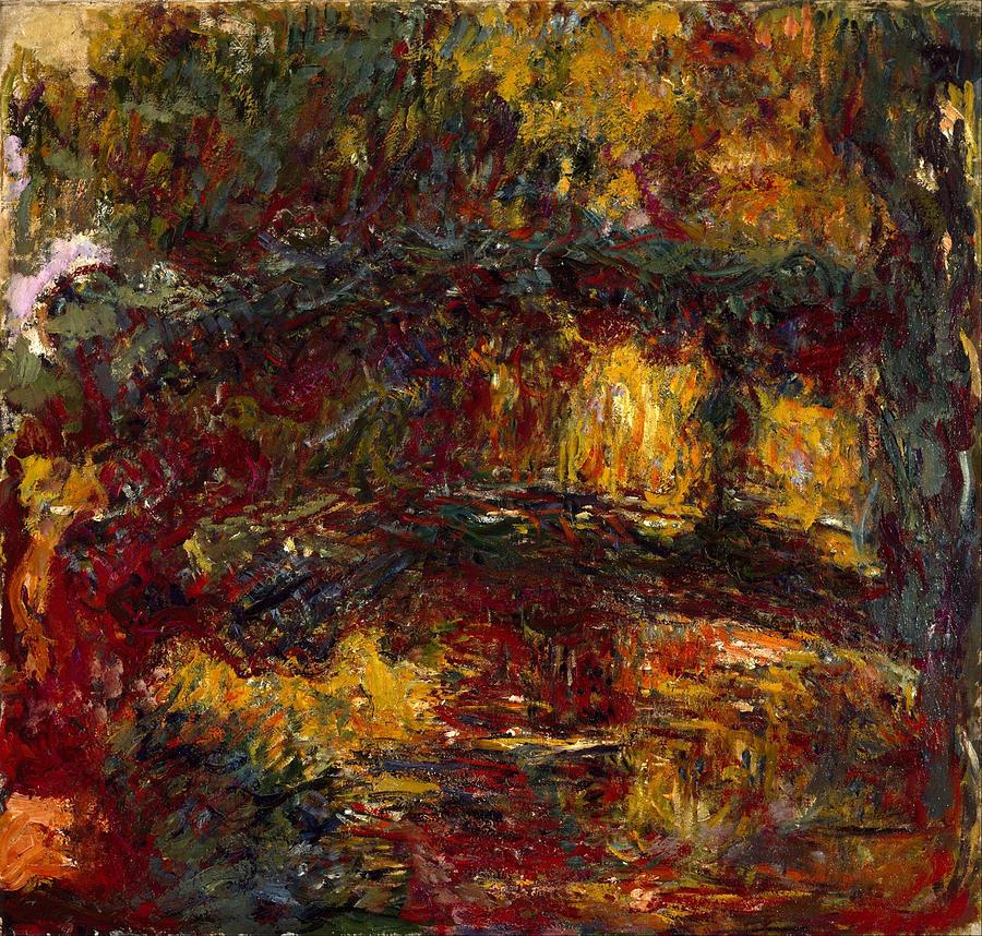 Claude Monet The Japanese Footbridge