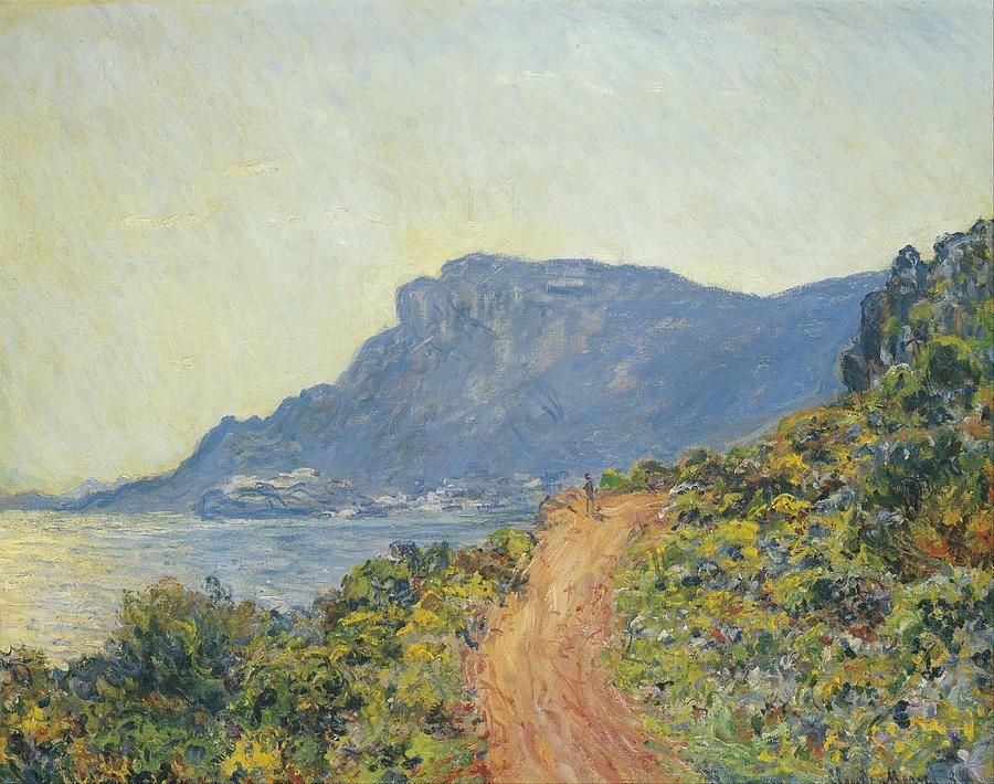 Claude Monet La Corniche Near Monaco