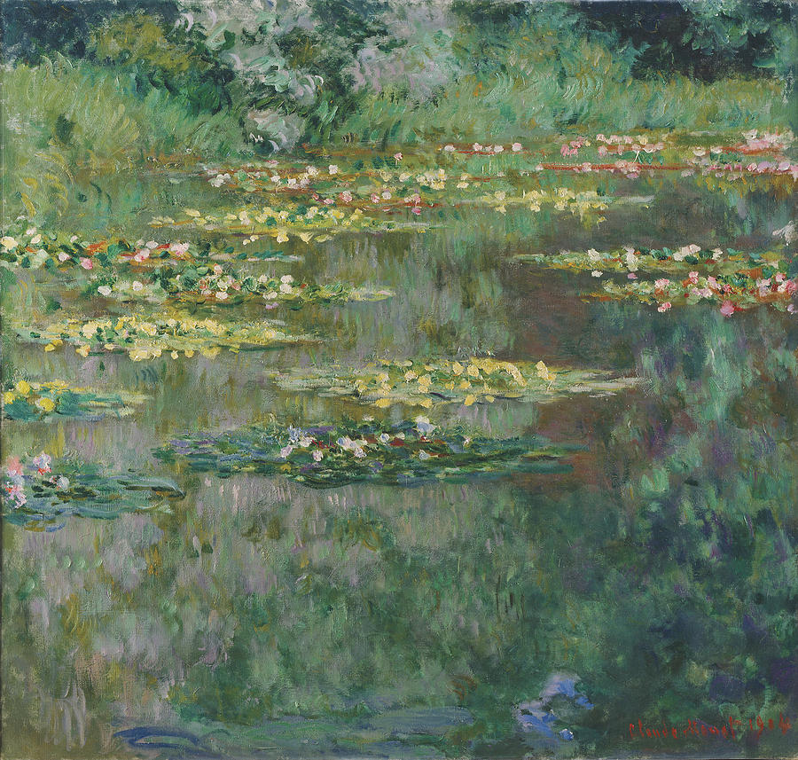 Claude Monet Le Bassin Des Nympheas