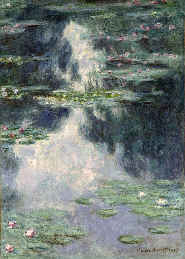 Claude Monet Pond With Water Lilies