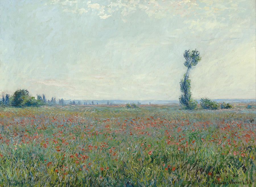 Claude Monet Poppy Field