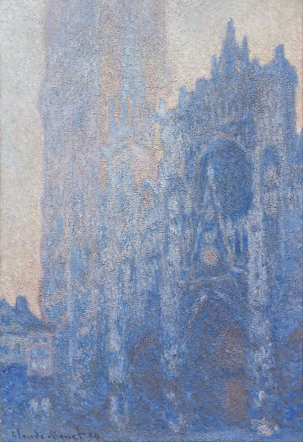 Claude Monet Rouen Cathedral Facade