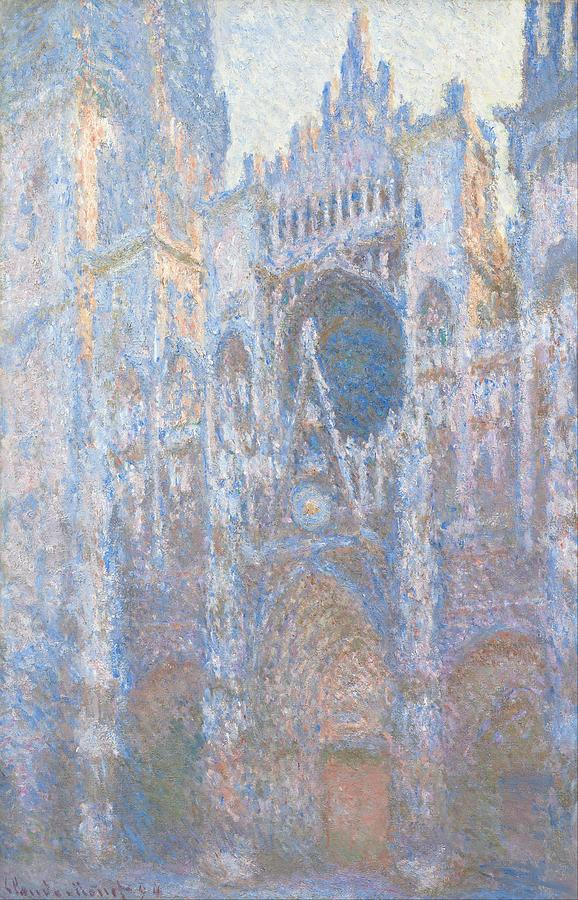 Claude Monet Rouen Cathedral West Facade