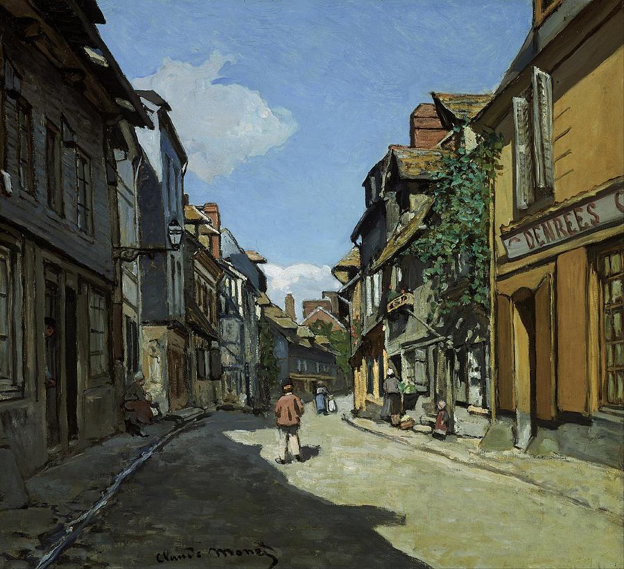 Claude Monet Rue De La Bavole