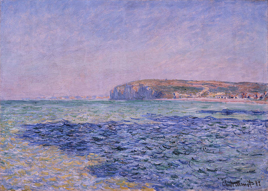 Claude Monet Shadows On The Sea
