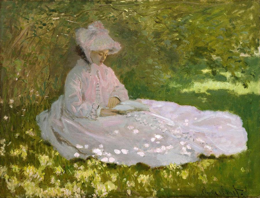 Claude Monet Springtime