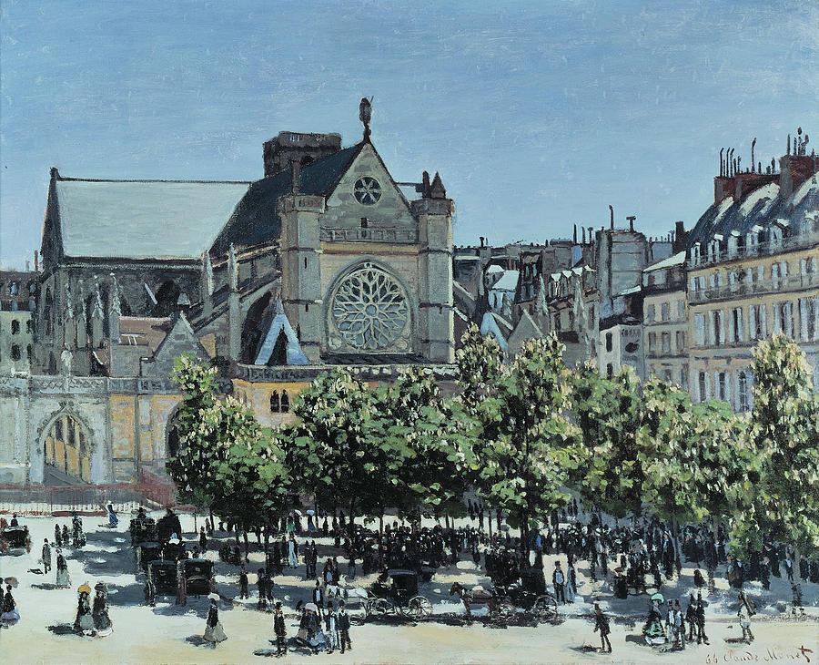 Claude Monet St. Germain l'Auxerrois