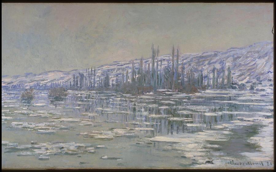 Claude Monet The Break-Up Of The Ice