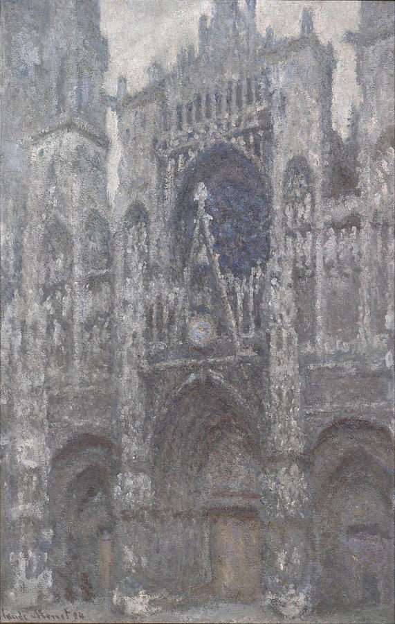 Claude Monet The Cathedral In Rouen