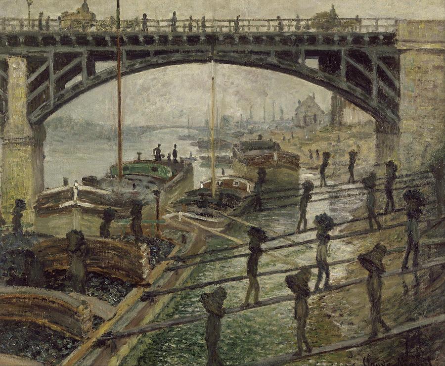 Claude Monet The Coalmen