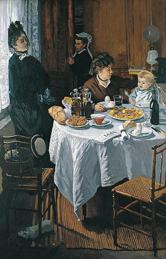 Claude Monet The Luncheon