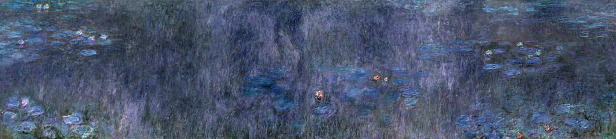 Claude Monet The Water Lilies - Tree Reflections
