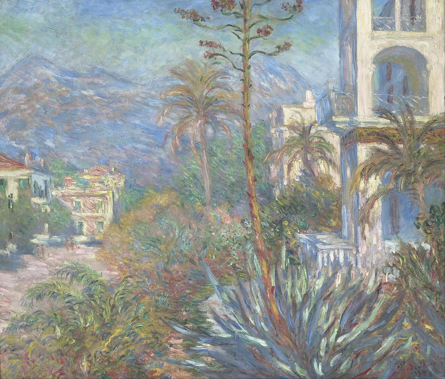 Claude Monet Villas At Bordighera