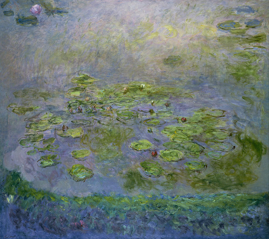 Claude Monet Waterlilies