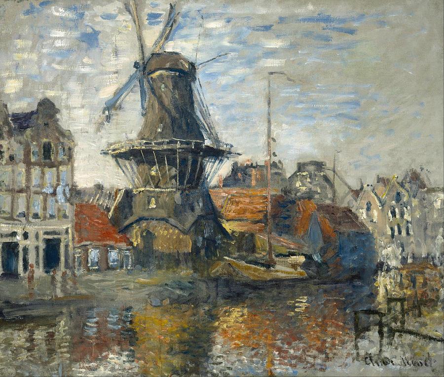 Claude Monet Windmill