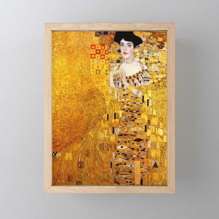 Gustav Klimt Lady In Gold Fine Art Digital Download